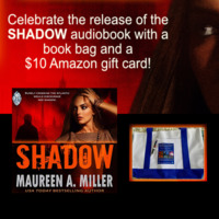 Maureen A. Miller's great Spring package: Win an Amazon Gift Card plus a BLUE-LINK book bag!