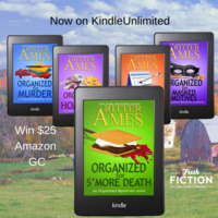 Did you know? Ritter Ames's The Organized Mysteries are Now in KU!