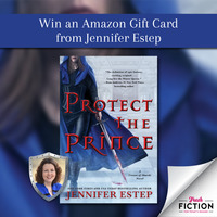 Gear up for Protect the Prince with an Amazon gift card from Jennifer Estep