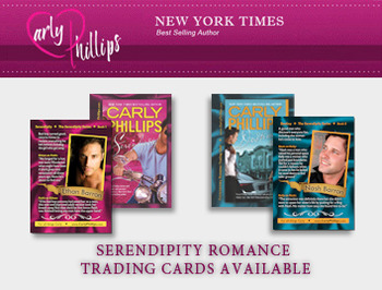 Carly Phillips Romance Trading Cards