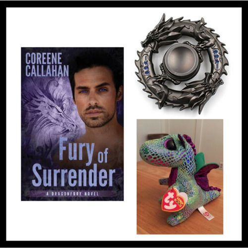 You can WIN the Perfect Christmas in July Prize Pack: Dragon Toys and an Autographed Book from Dragonfury Author Coreene Callahan
