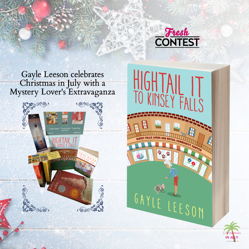 Gayle Leeson celebrates Christmas in July with a Mystery Lover's Extravaganza