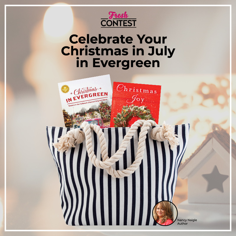 Nancy Naigle has a special giveaway for Hallmark Christmas in July Movie Lovers!