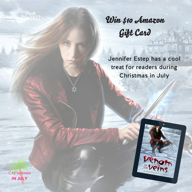 Celebrate Christmas in July with an Amazon gift card from Jennifer Estep