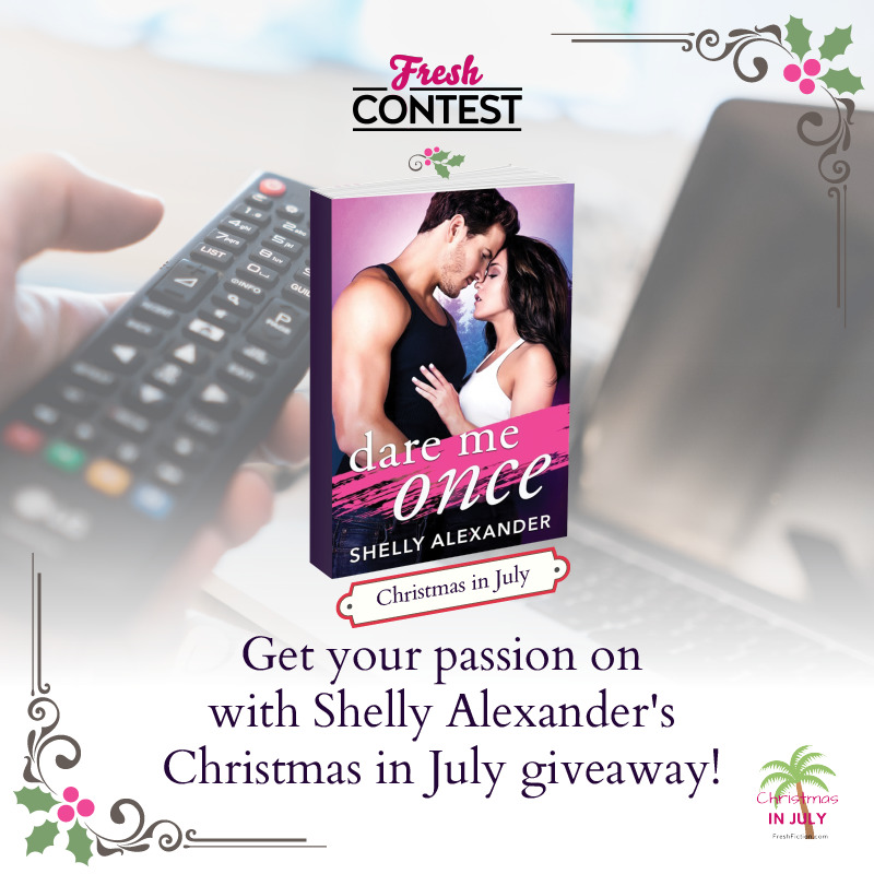 Get your passion on with Shelly Alexander's Christmas in July giveaway!