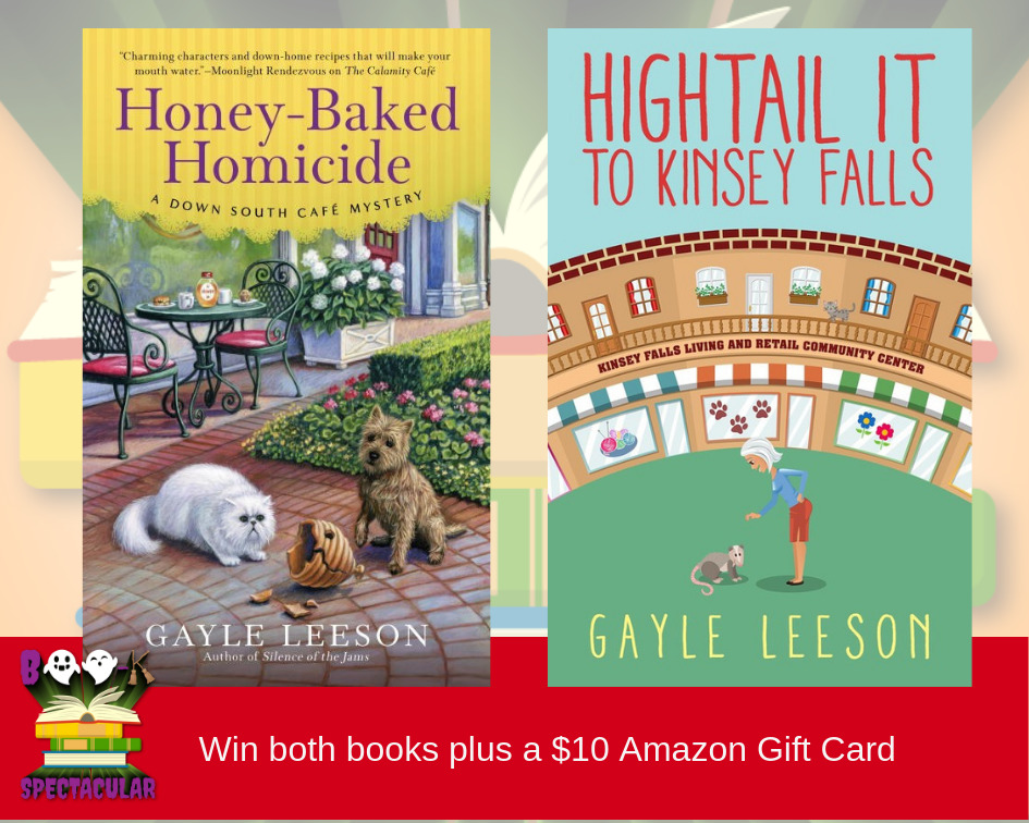 Cozy Up This Fall with Some Fun Reads  from Gayle Leeson and an Amazon Gift Card
